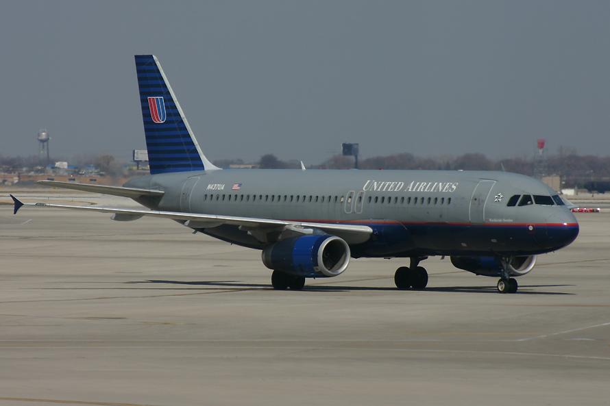 N437UA, United, A320