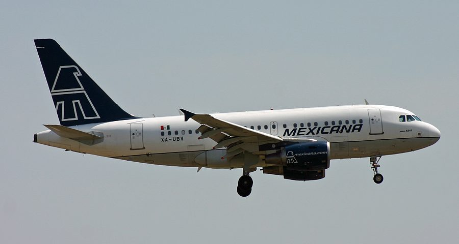 XA-UBV, Mexicana, A318