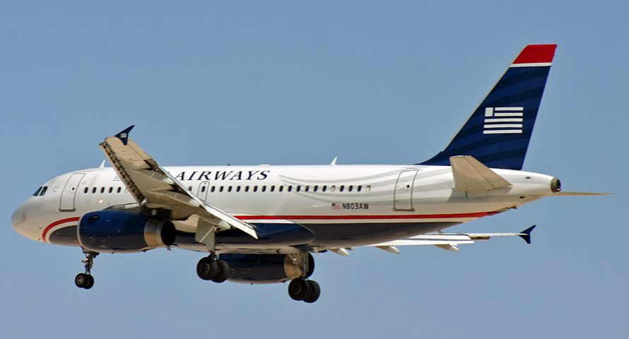 N803AW, US Airways, A319