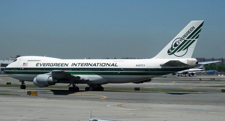 N487EV, Evergreen, B747-200 F