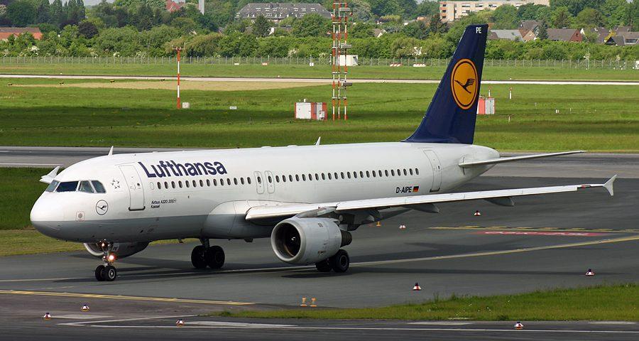 D-AIPE, Lufthansa, A320