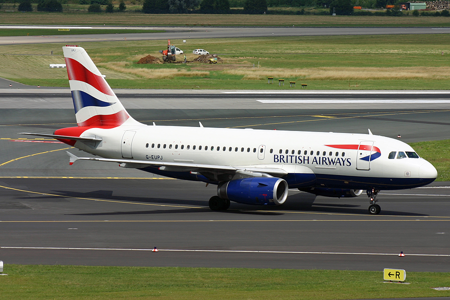 G-EUPJ, British Airways, A319