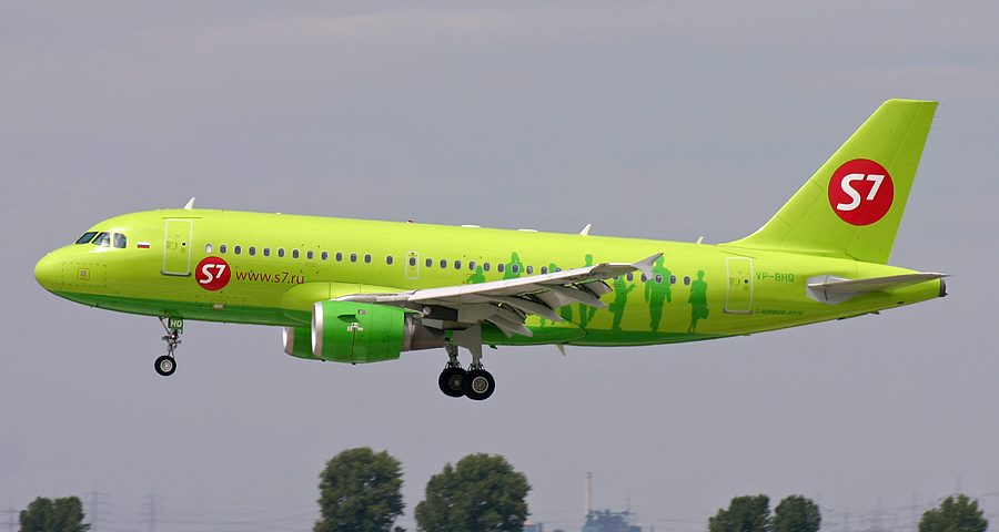 VP-BHQ, Siberia S7, A319