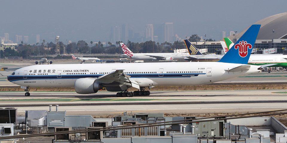 B-2029,China Southern, B777-300