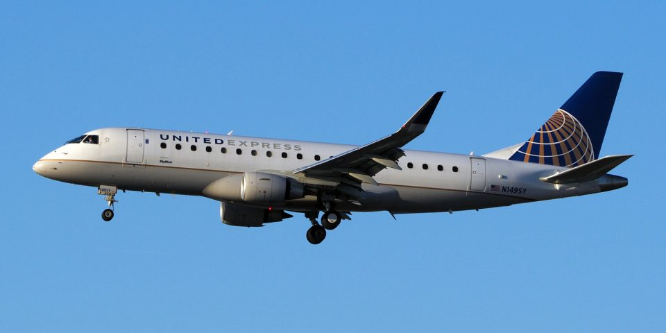 N149SY, United, Embraer 175
