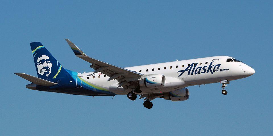 N173SY, Alaska, Embraer 175