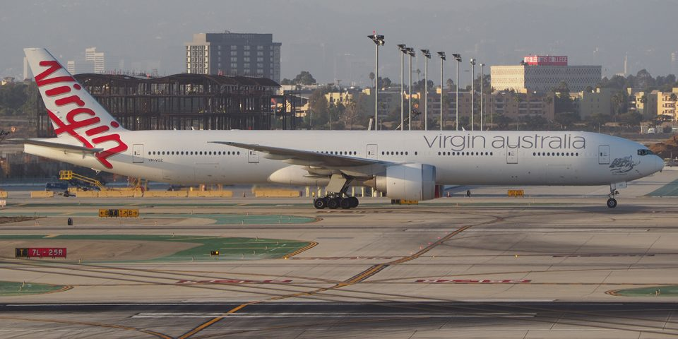 VH-VOZ, Virgin Australia, B777-300