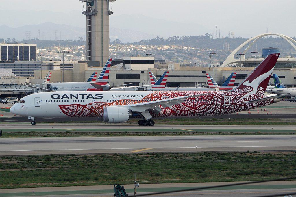 VH-ZND, Qantas, B787-9, Emily Kame Kngwarreye