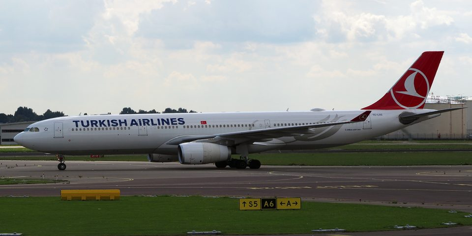 TC-LOG, Turkish Airlines, A330-300