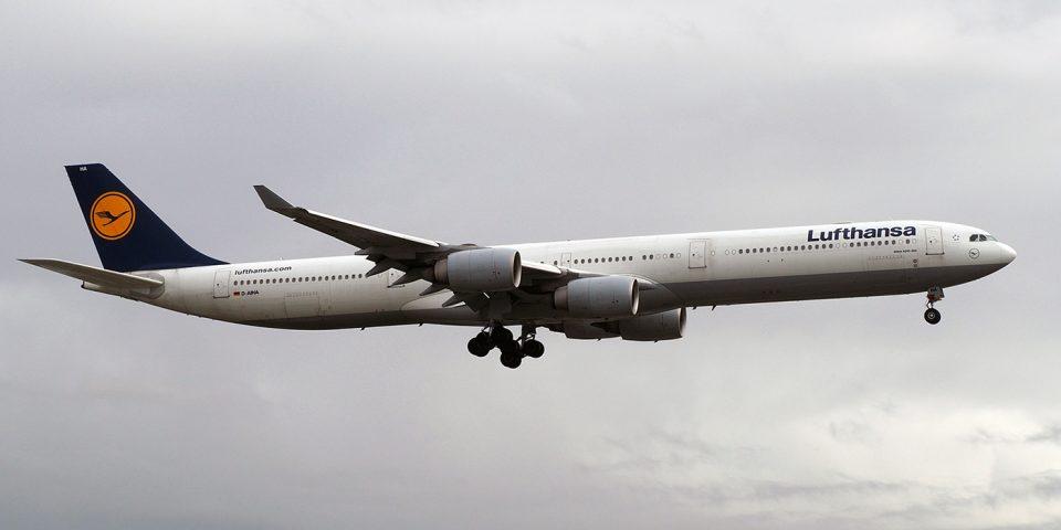 D-AIHA, Lufthansa, A340-600