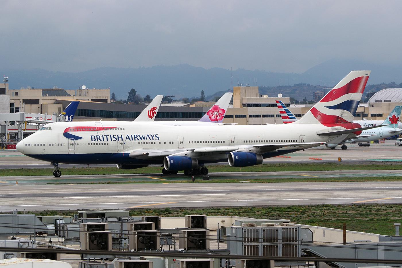 G-CIVN, British Airways, B747-400