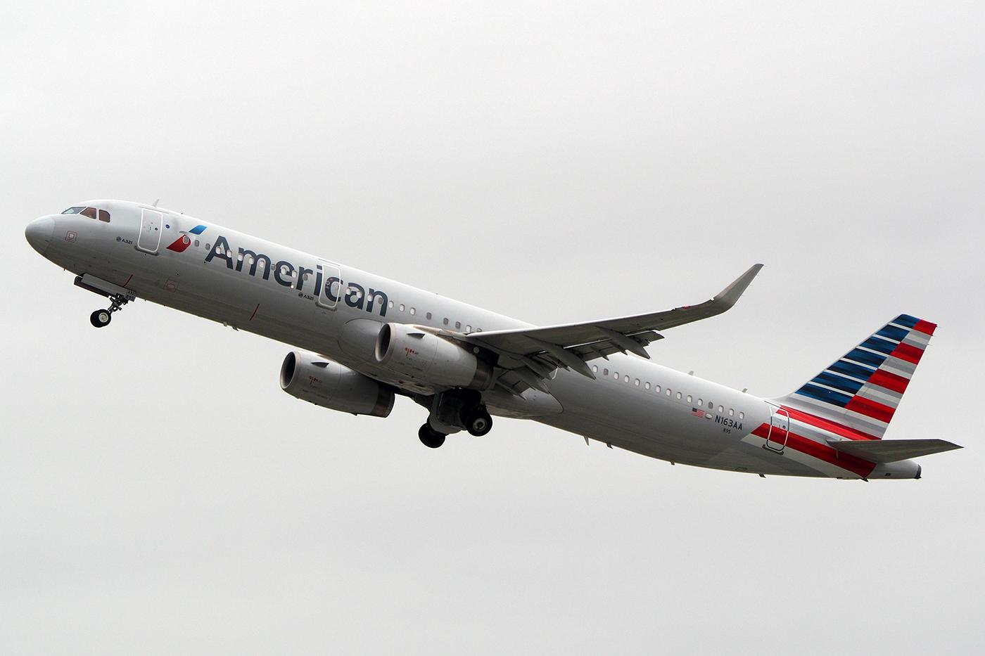N163AA, American, A321