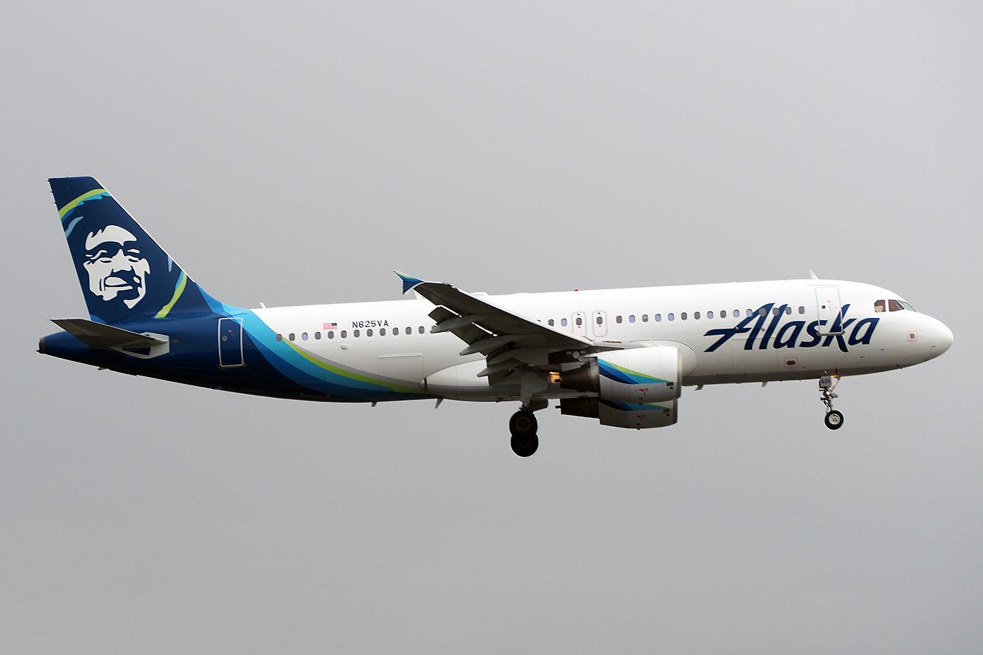 N625VA, Alaska, A320