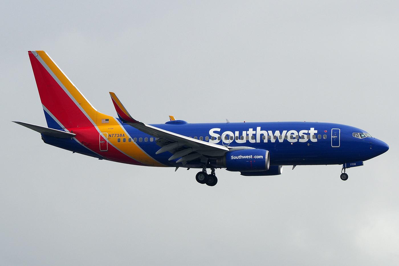 N7738A, Southwest, B737-700