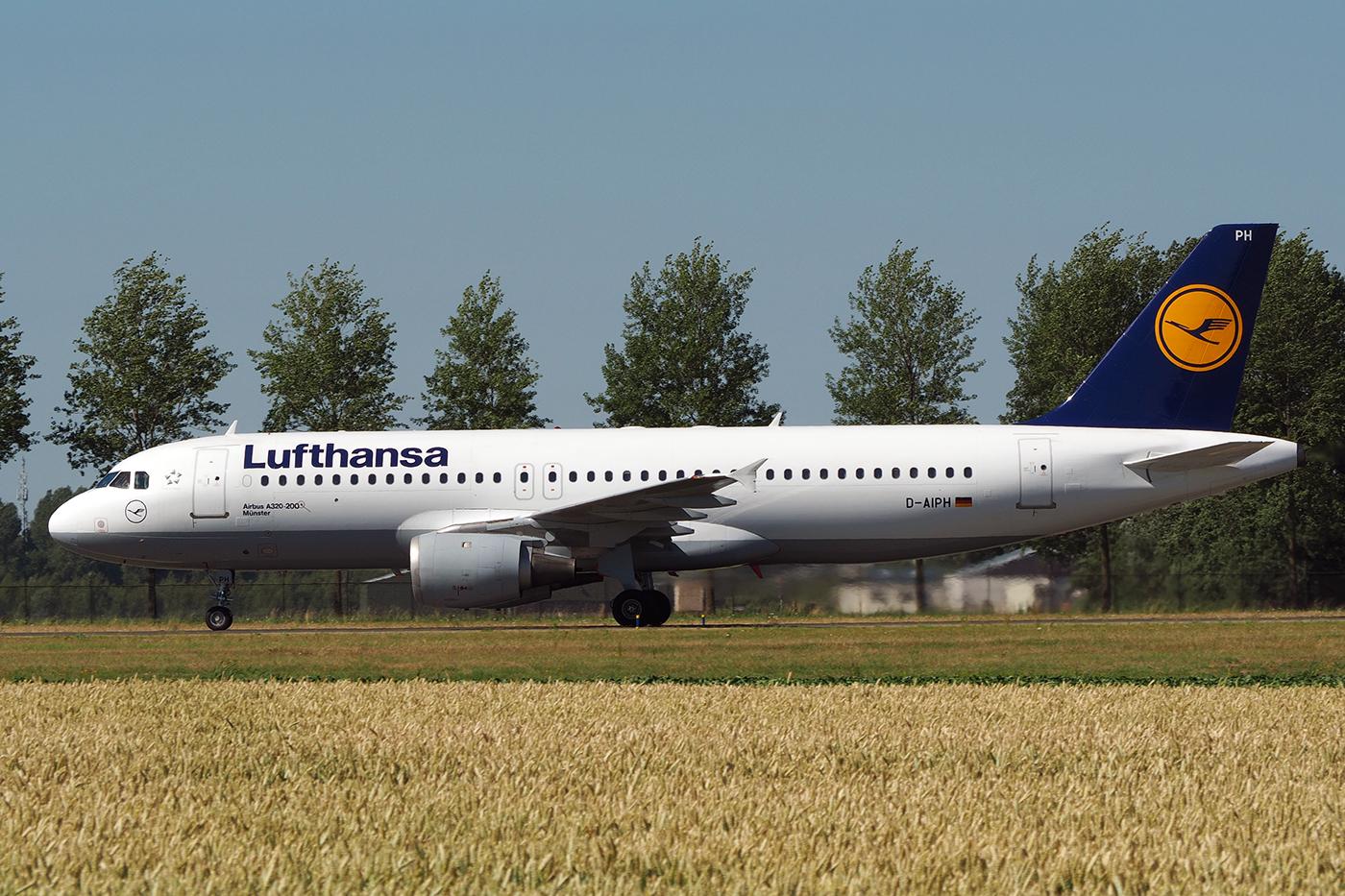 D-AIPH, Lufthansa, A320