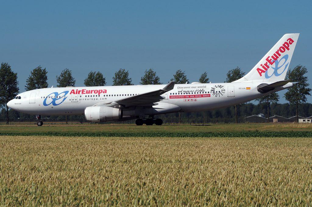 EC-LVL, Air Europa, A330-200