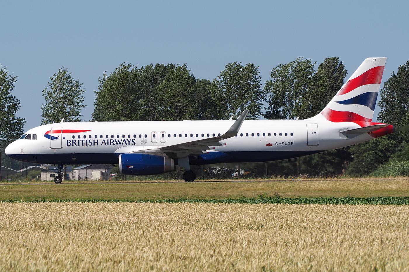 G-EUYP, British Airways, A320