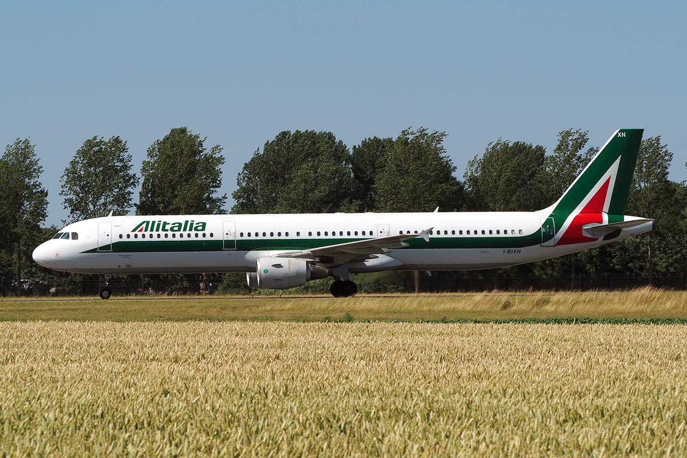 I-BIXN, Alitalia, A321