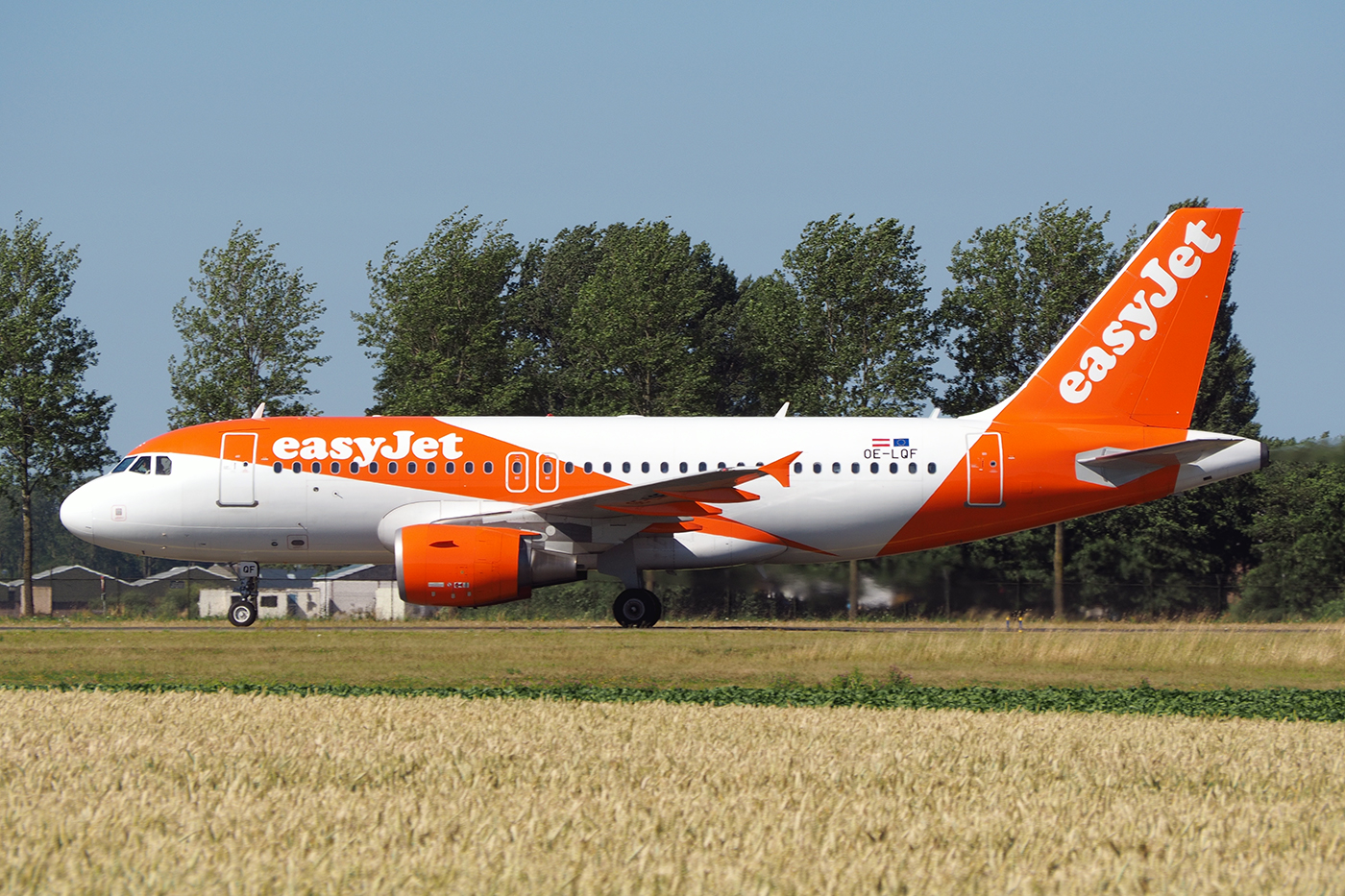 OE-LQF, Easy Jet, A319