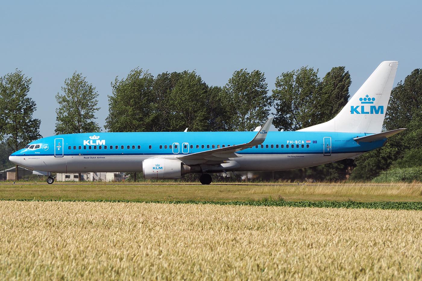PH-BCA, KLM, B737-800