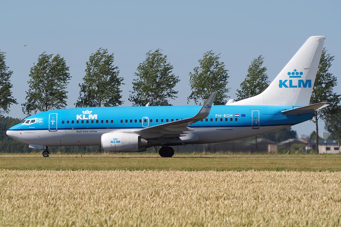 PH-BGM, KLM, B737-700