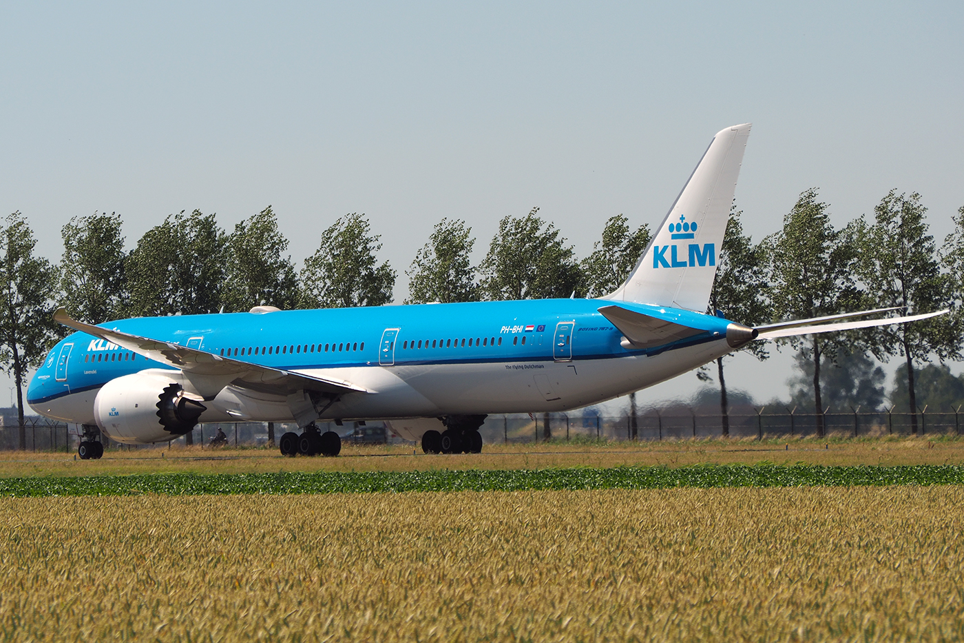 PH-BHI, KLM, B787-9