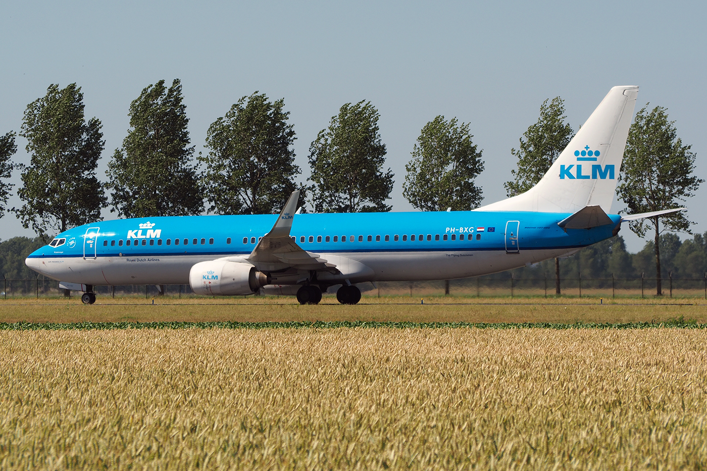 PH-BXG, KLM, B737-800