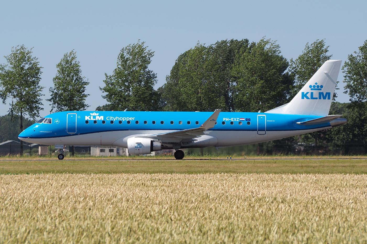PH-EXZ, KLM cityhopper, Embraer 175