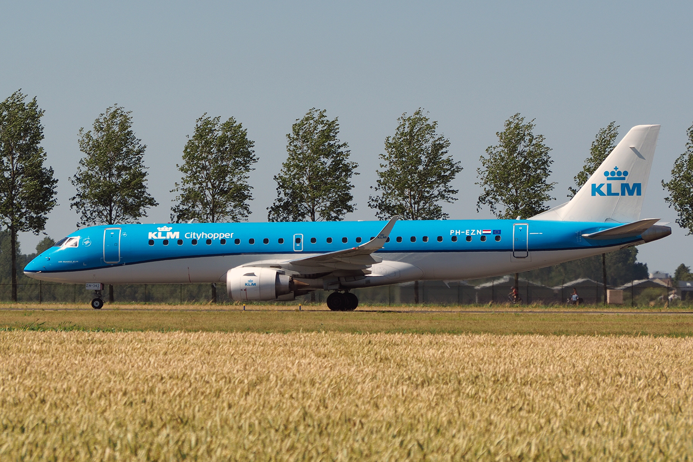 PH-EZN, KLM cityhopper, Embraer 190
