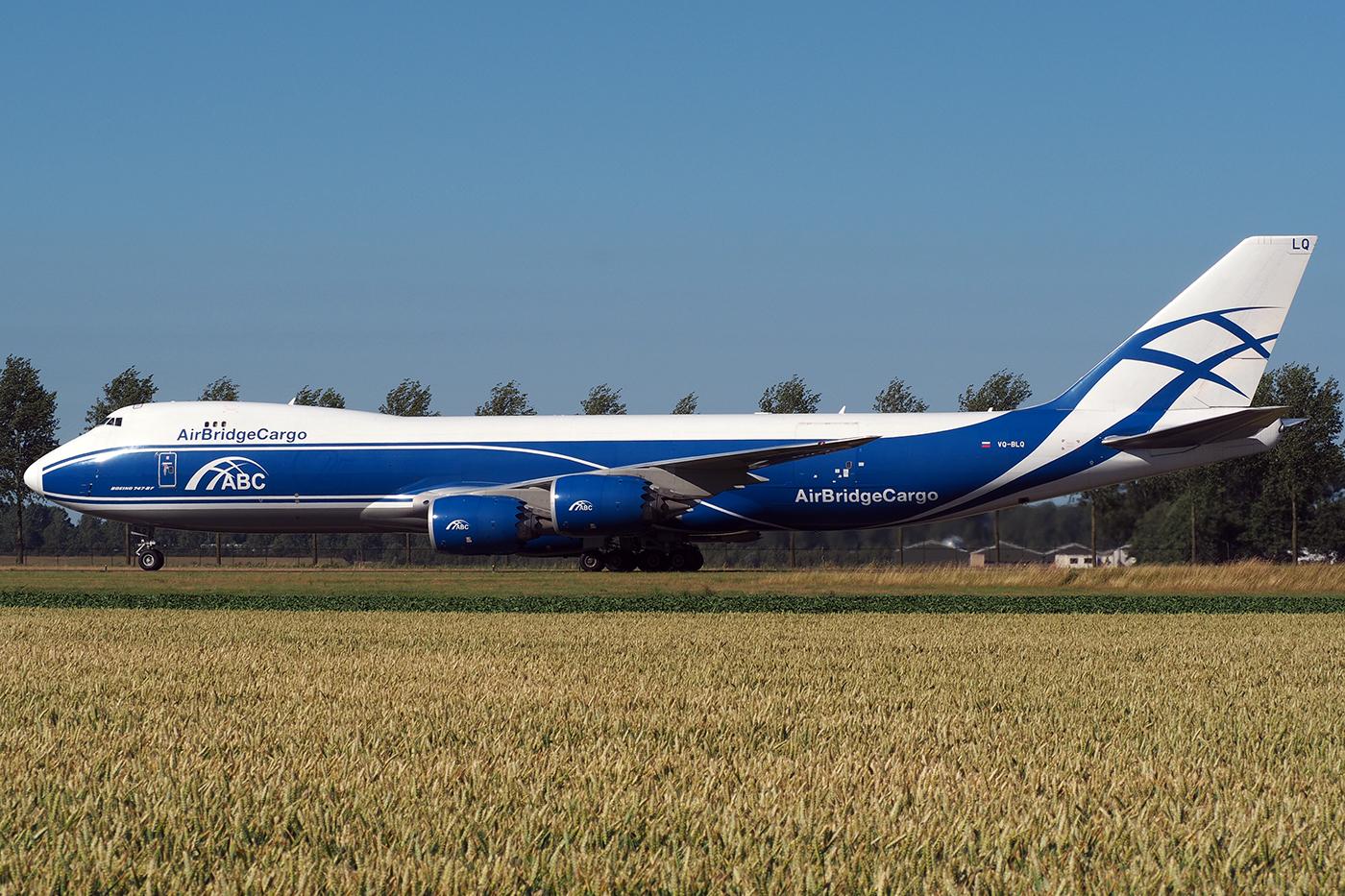 VP-BLQ, Air Bridge Cargo, B747-8 F