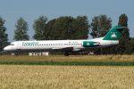 YR-FKA, Carpatair, Fokker 100